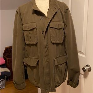 Olive Green Fossil Jacket